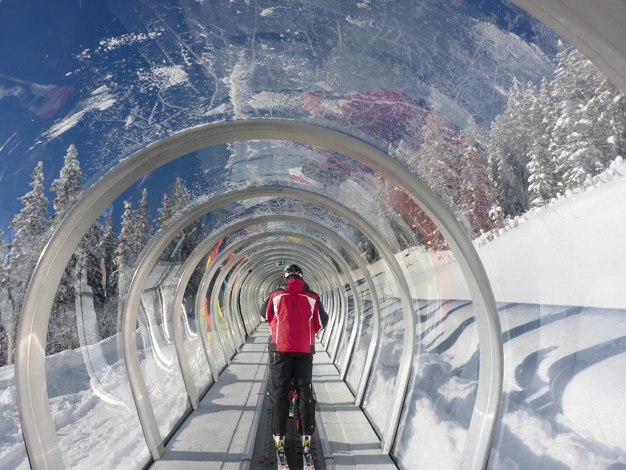 Катание в ноябре, ранние лыжные курорты