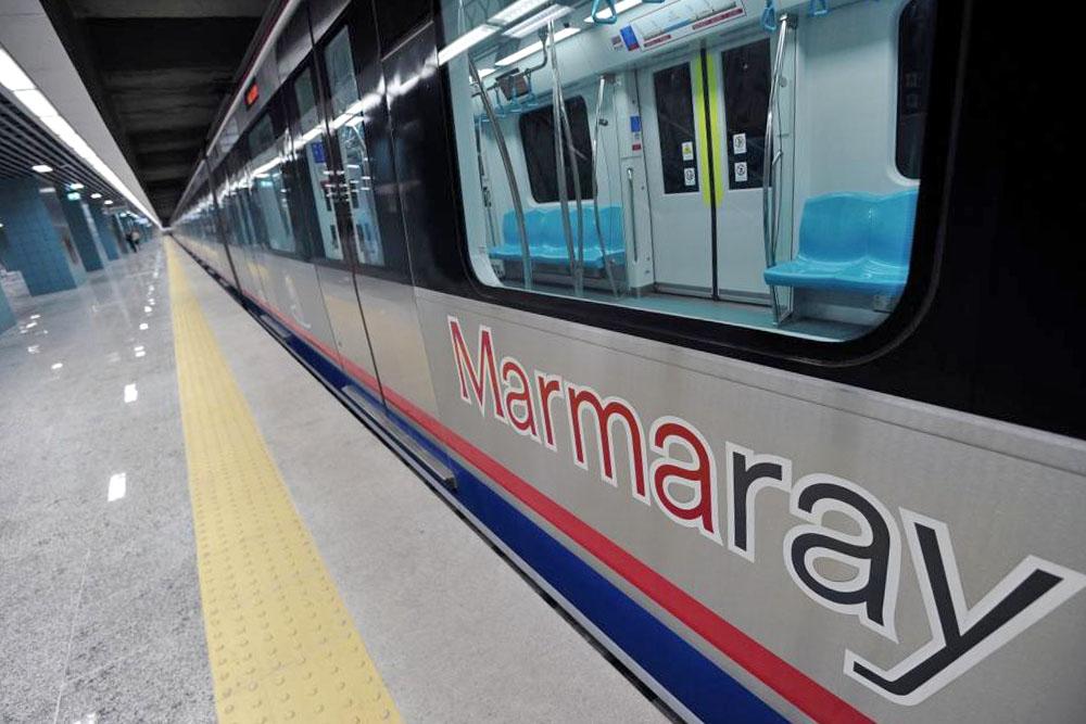 Метро под Босфором marmaray