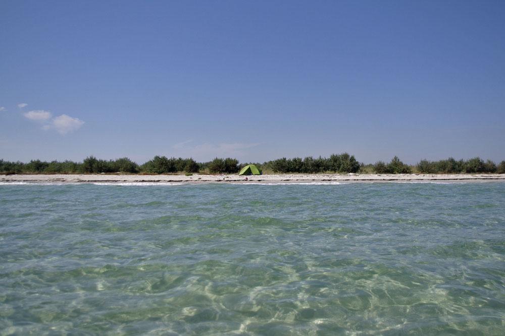 Голубые воды Джарылгача