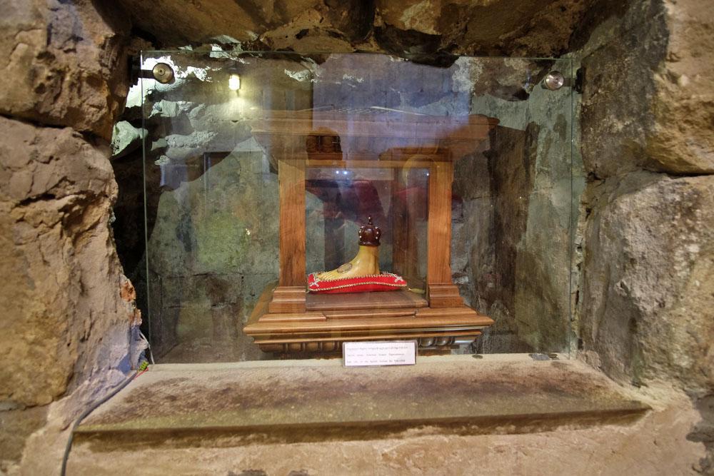 Мощи Андрея Первозванного в Светицховели