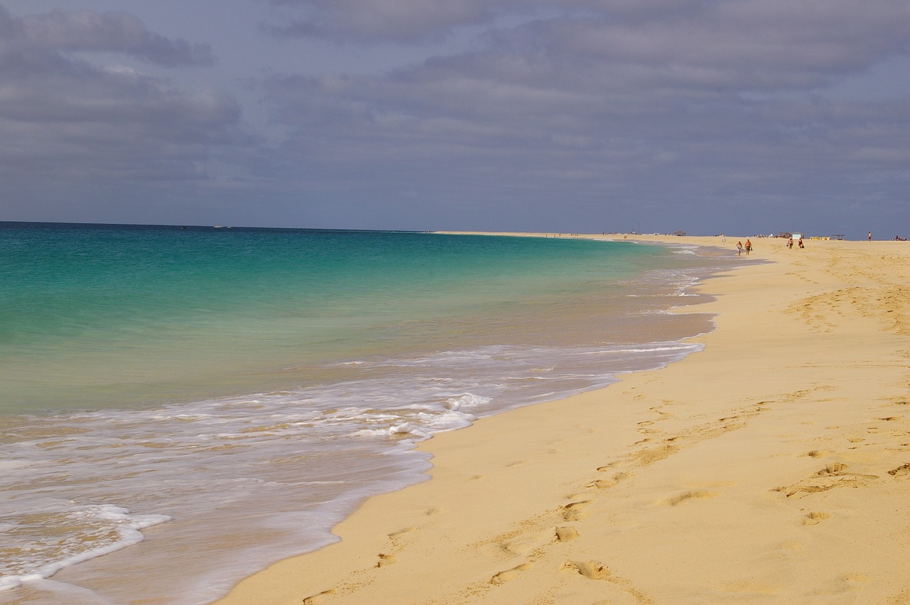 Пляжи на Кабо Верде