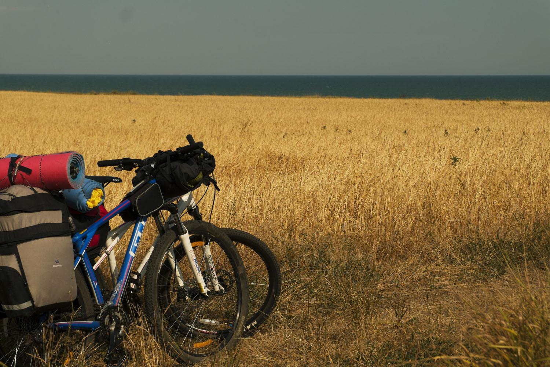 Приазовье - пшеничное поле и море