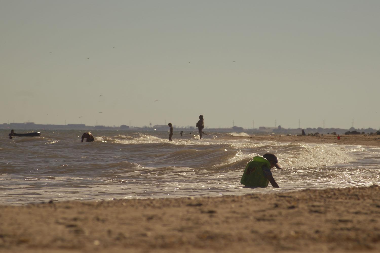 Пляж на Степановской косе