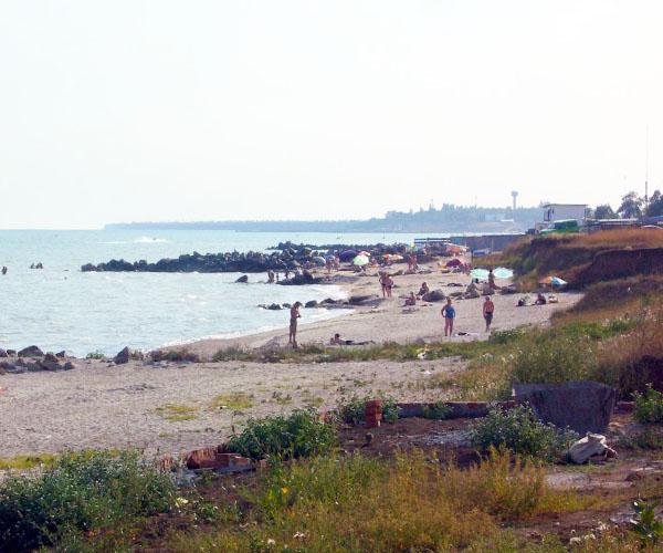 Пляж Приморского Посада