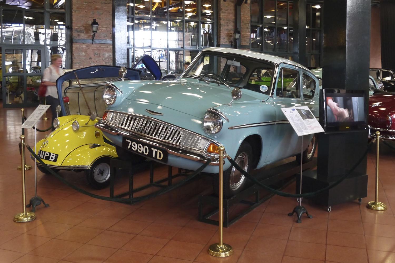 Музей Рахми М. Коча - авто из фильма о Гарри Поттере