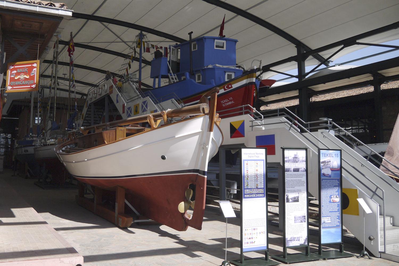 Музей Рахми М. Коча - морская экспозиция