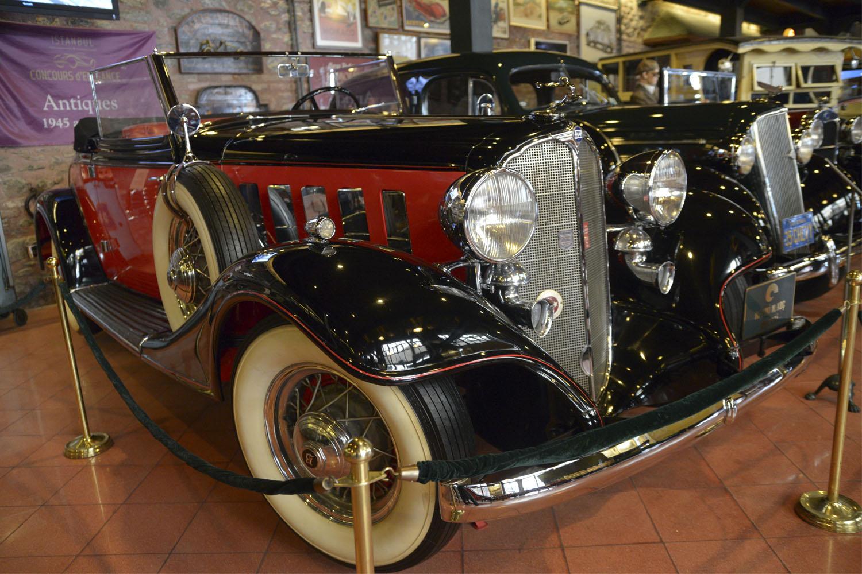 Музей Рахми М. Коча - автомобильная экспозиция