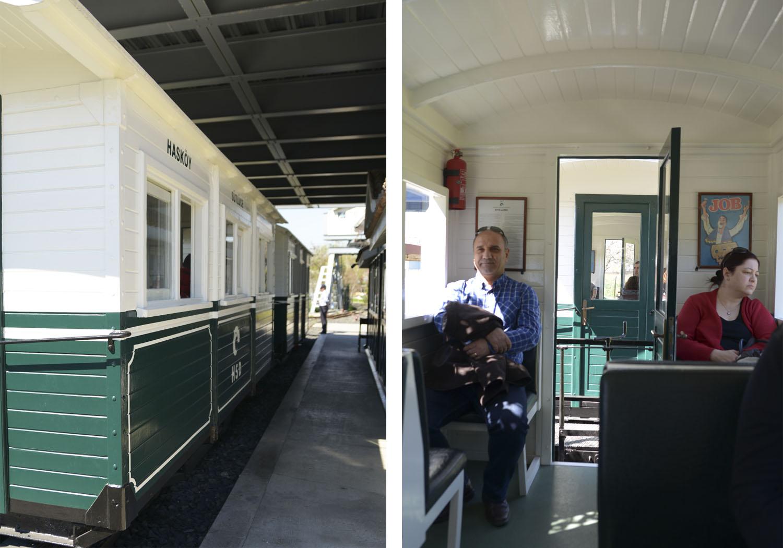 Музей Рахми М. Коча - ретро-поезд