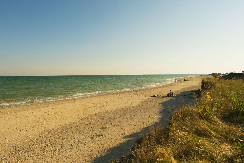 Степановская коса, пляж