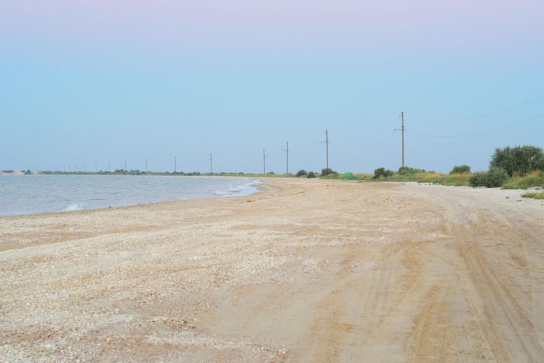 Степановская коса, безлюдный пляж