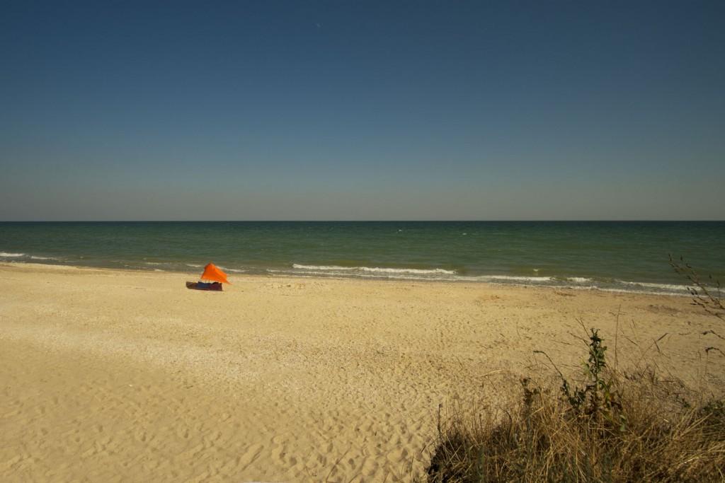 Степановская коса, пустынный пляж