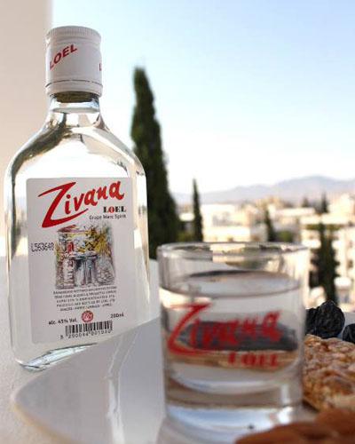 Зивания - кипрская водка